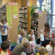 Z wizytą w bibliotece miejskiej